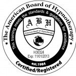 Certified/Registered with the American Board of Hypnotherapy